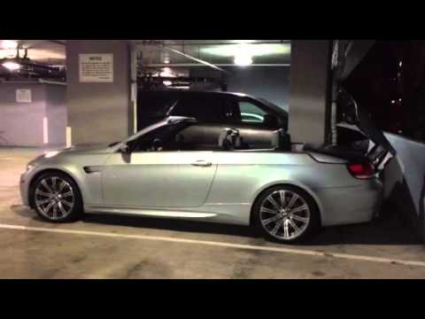 2009 E93 BMW M3 Convertible Converting  YouTube