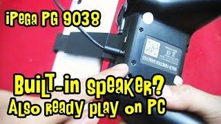 Review & Tutorial iPega PG 9038 - Can Play PC & Smartphone