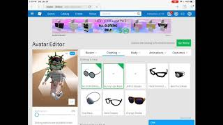How To Wear 2 Items On ROBLOX ( IPAD EDITION! )