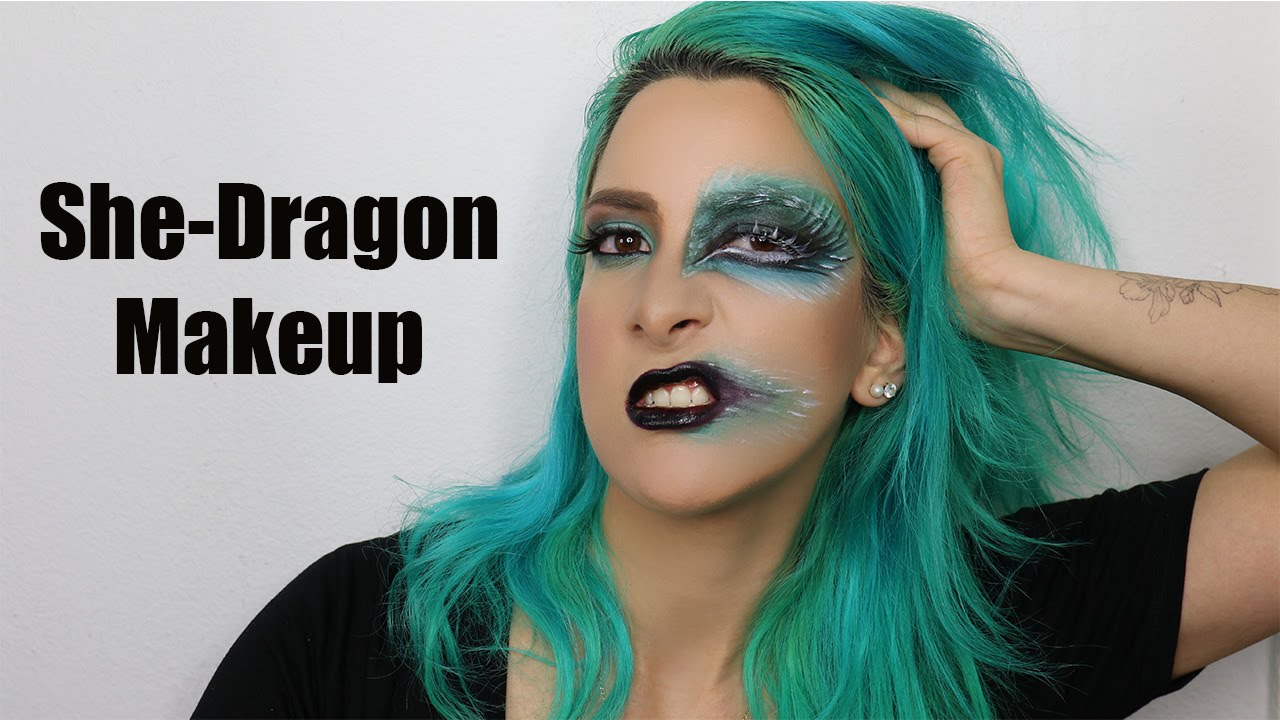 She-Dragon Makeup | AidaJamilaMUA - YouTube