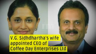 V.G. Siddhartha's wife Malavika Hegde appointed new CEO of Coffee Day