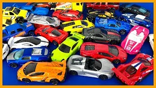 250 Surprise Hot Wheels Toy Cars, Police, Firetruck Box