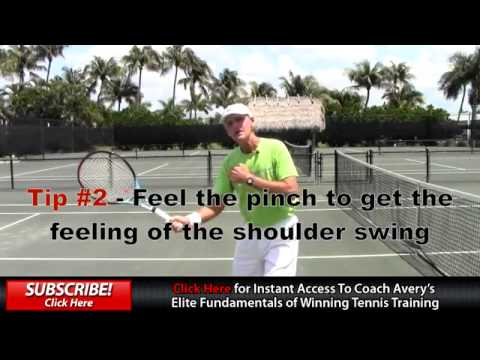 Tennis Volley Tips With Coach Tom Avery