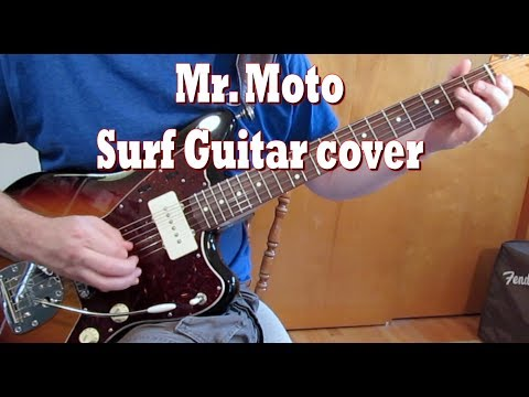 Mr. Moto guitar cover by Tom Conlon