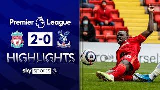 Mane brace secures Champions League spot | Liverpool 2-0 Crystal Palace | Premier League Highlights