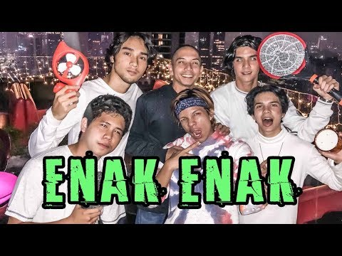 MABOK Es Teh Manis!! ft AL Ghazali, Mikha Tambayong, Steffi Zamora, Marsha, Endi, Megan. DLL