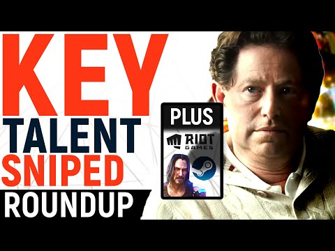 Activision-Blizzard's Talent SNIPED! Cyberpunk's Delay Cause, Riot's $400M Trouble + VALVE