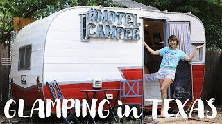 LIVE) テキサスでグランピング!Glamping in Austin, TX!〔#592〕【🇺🇸横断の旅 29】 thumbnail