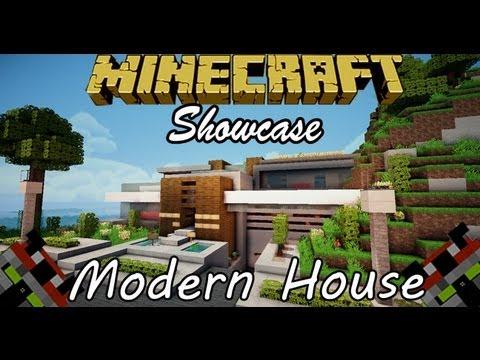 Minecraft Modern House Tour House 4 YouTube
