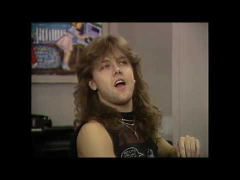 Metallica MTV News Interviews Japan 1986