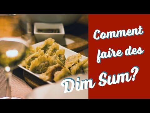 Comment faire des dim-sum?