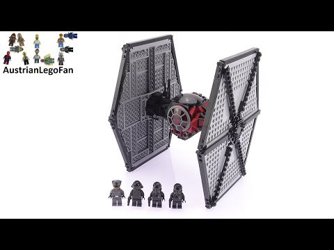 Lego Star Wars 75101 First Order Special Forces Tie Fighter - Lego Speed Build Review