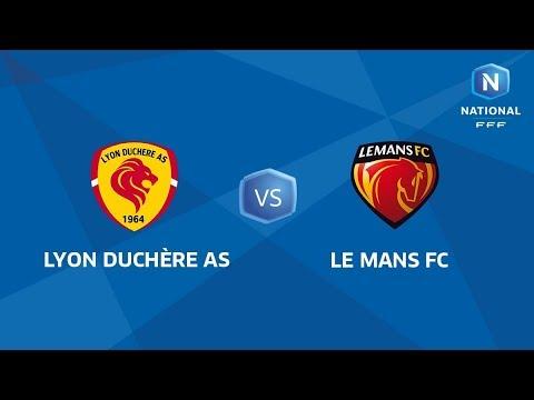 J14 : Lyon Duchère AS - Le Mans FC I National FFF 2018-2019