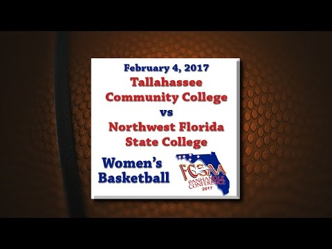 Panhandle Conference 2017 - TCC @ NWFSC - February 4, 2017 - Pt 1 -Women's Basketball