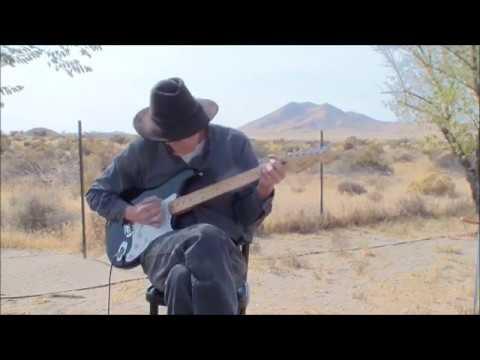 Into The Sky - Nevada Desert Backyard Solo Version