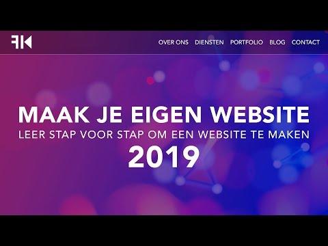 Hoe Maak Je Een Wordpress Website 2019