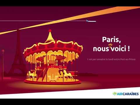 [  Reprise des vols dAir Caraibes vers Paris  ]