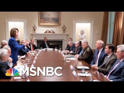 Revelations Show President Donald Trump At The Center Of The Ukraine Scandal | Deadline | MSNBC