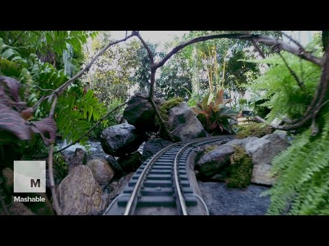 Holiday Train Show: Ride Through New York's Botanical Garden | Mashable