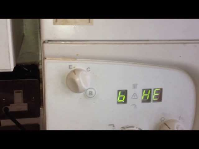 Verwonderend How to fill and reset a Ariston Microgeneous boiler London JQ-03