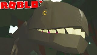 Dinosaur Hunter (Roblox)-Man VS. Dinosaur, Battle for life!! -(#1) (Gameplay EN-BR)