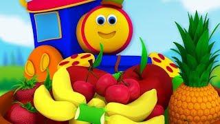 Fruits Train   Bob The Train Cartoon Videos For Kids