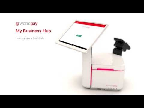 My Business Hub - Making a Cash Sale