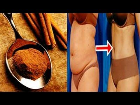 como eliminar cintura y barriga con canela
