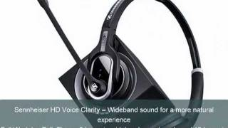 Sennheiser DW Pro1 & Pro2 Wireless Headsets from your Headset Amigos at www.HEADSET.com!