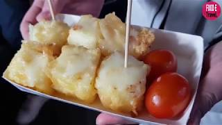 부산 남포동 우유튀김(Fried Milk) / Korean Street Food / NampoDong, Busan Korea