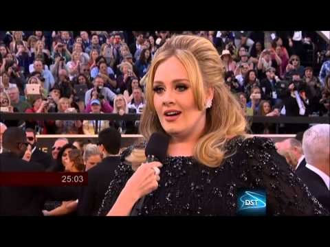 Adele Red Carpet Interview 2013