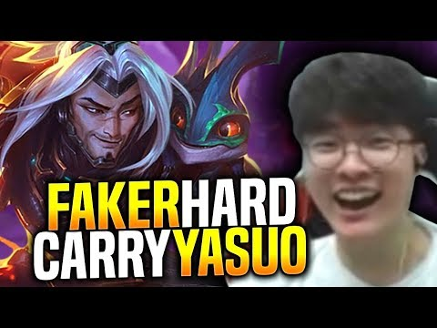FAKER INSANE YASUO PERFORMANCE! - SKT T1 Faker Plays Yasuo vs Ryze Mid! | S9 KR SoloQ Patch 9.9