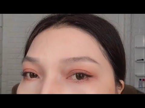 Makeup mắt bằng son – Trang điểm mắt nhẹ nhàng – Eye makeup with lipstick