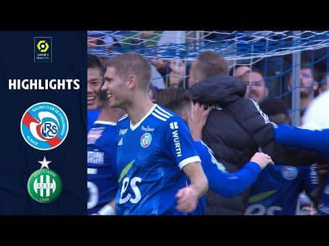 Strasbourg St. Etienne Goals And Highlights