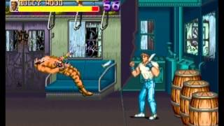 Final Fight: Double Impact (PS3/PSN) - Online Walkthrough (1/4)