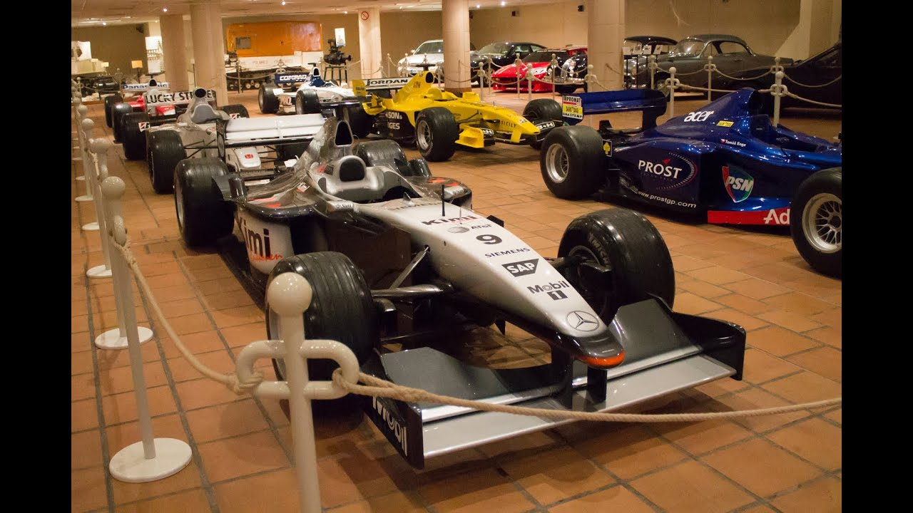 classic f1 cars collection musee de l 39 automobile prince albert ii de monaco 2013 hq youtube. Black Bedroom Furniture Sets. Home Design Ideas