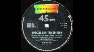 Rose Royce - It Makes You Feel Like Dancin
