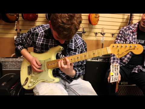 Tyler Morris at Norman's Rare Guitars