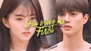 You Broke Me First (Park Jae-Eon ✗ Yu Na-Bi) [Nevertheless + 1x06 FMV]
