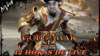 GOD OF WAR 2 PS3 Ω 🔴 [[ LIVE ]] 🔴 - LIVE DE 12 FUCKING HORAS - ATÉ ZERAR - VERY HARD - AO VIVO