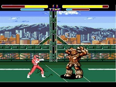 power rangers fighting game genesis