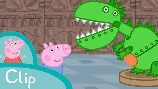 Peppa Pig Français    La Salle des Dinosaures