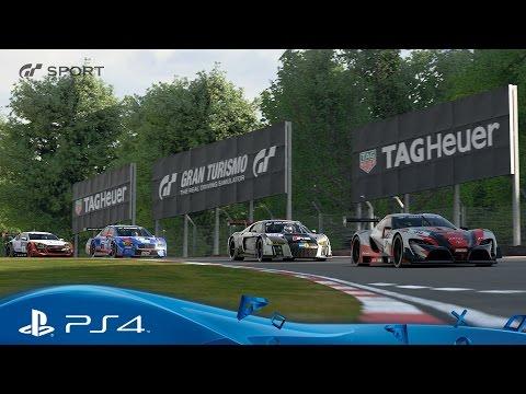 Gran Turismo Sport TAGHeuer Partnership