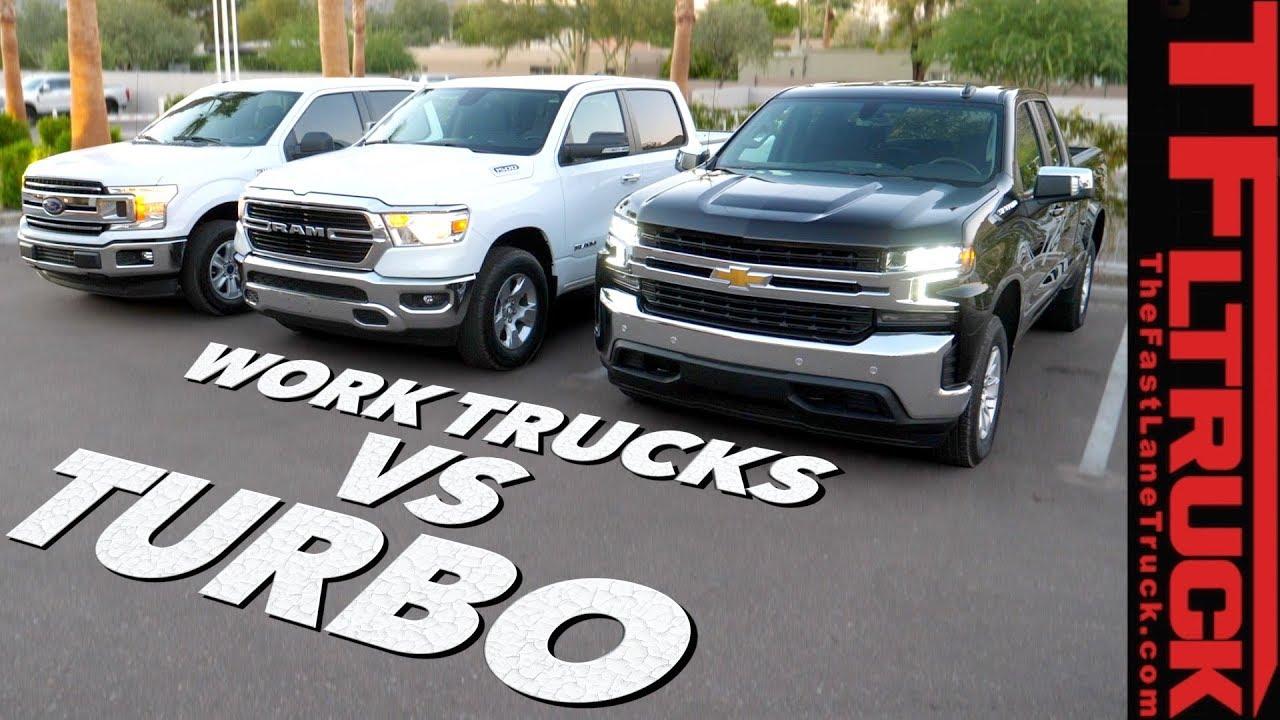 Work Truck Wars 2019 Chevy Silverado 4 Cylinder Turbo Vs Ford F150