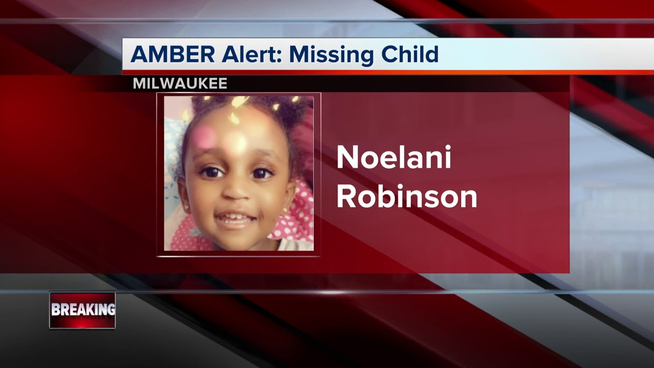 AMBER Alert: Police investigating tips 2-year-old Noelani Robinson may be in Minnesota, Michigan