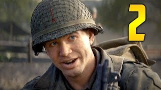 """Call of Duty WW2 PC Gameplay Walkthrough - Mission 2 """"OPERATION COBRA"""" (Let"""