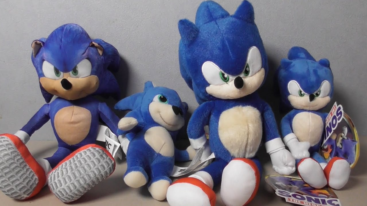 Sonic Movie Plushies Youtube