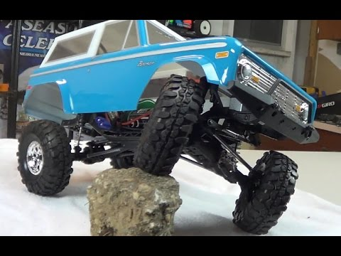 2015 Ford Bronco >> 1972 Ford Bronco Vaterra Ascender RTR RC Scale Crawler - YouTube