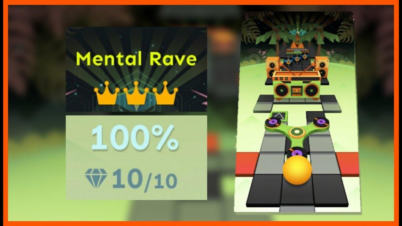 Download Rolling Sky - Mental Rave (Bonus 7) All Crowns & Gems