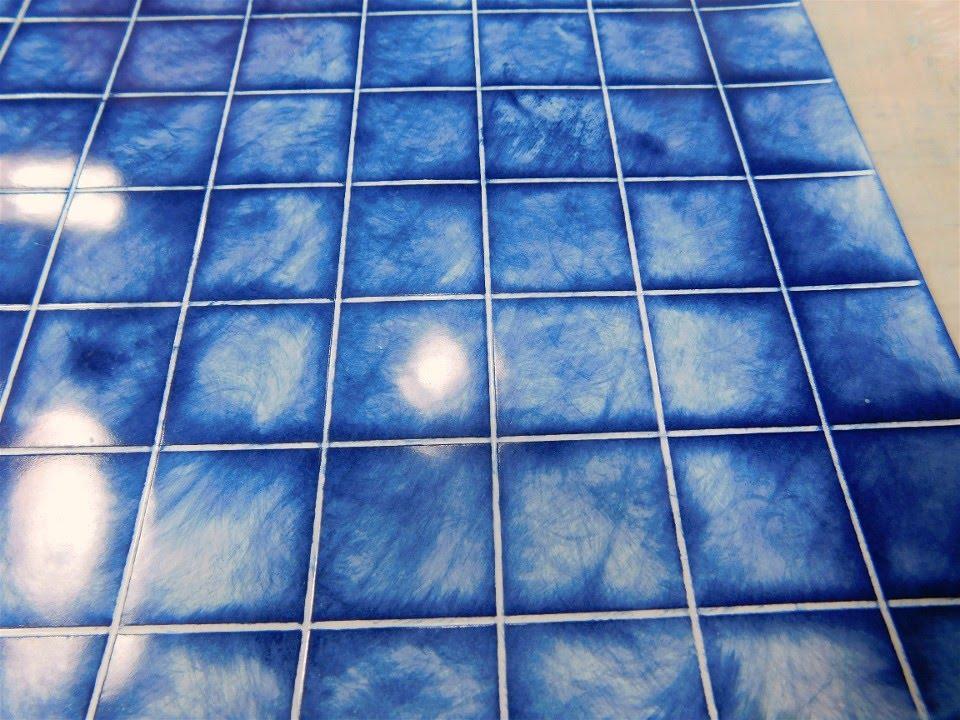 dollhouse miniature faux ceramic tiles